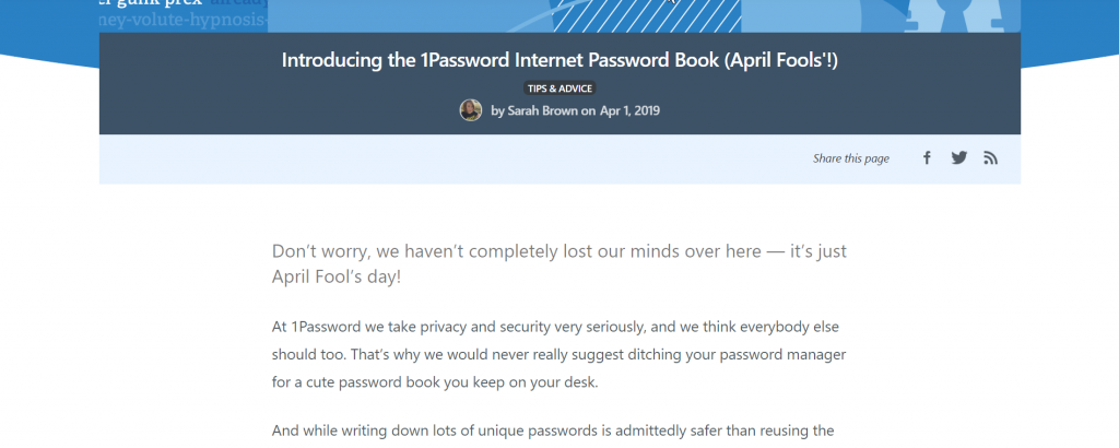 1password case study